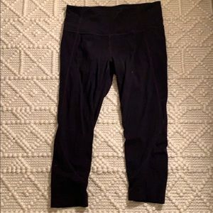 Athleta crop high waist legging